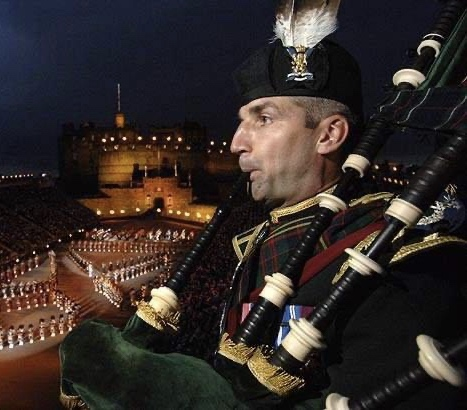 Pipe Major Michael Gray MBE